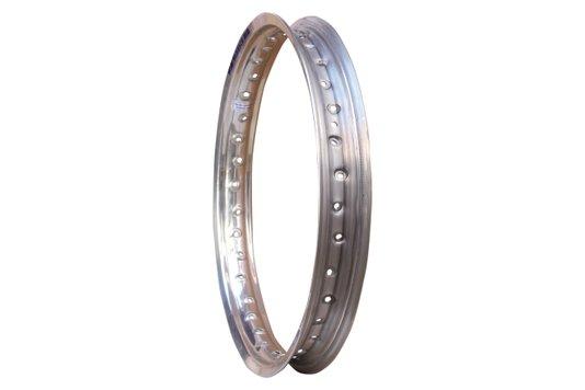 Aro Traseiro Aluminio Roda 1.85x18 36 Furos Polido Prata