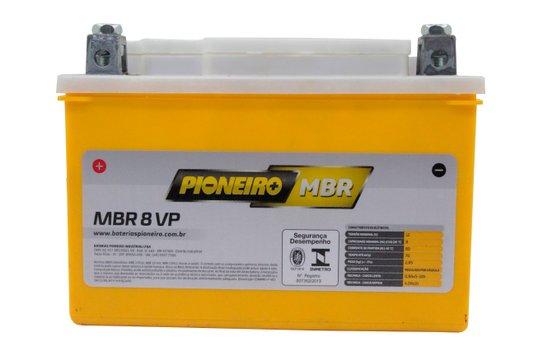 Bateria Para Moto 8 AMP 12 V Original Pioneiro