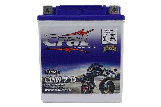 Bateria Para Moto CLM7D Cral
