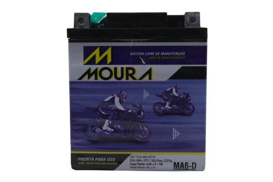 Bateria Para Moto MA6-d Original Moura