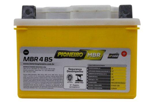 Bateria Para Moto MBR4-BS Original Pioneiro