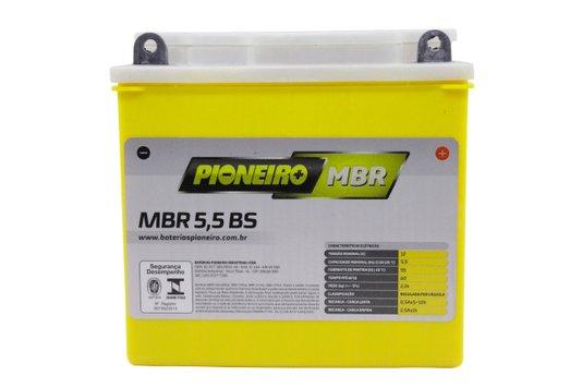 Bateria Para Moto MBR5,5-BS Original Pioneiro
