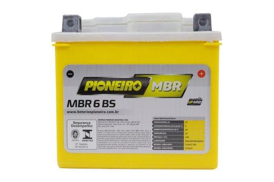 Bateria Para Moto MBR6-BS Original Pioneiro