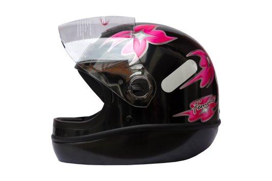 Capacete Formula 1 R Feminino Preto Taurus