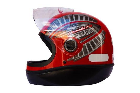 Capacete Formula 1 R Grafic Vermelho Taurus 56