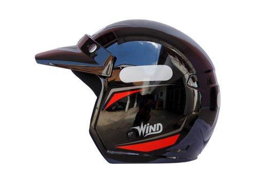 Capacete V2 New Concept Aberto Wind Taurus