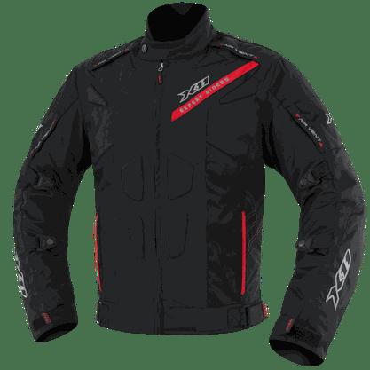 Jaqueta Segurança Impermeável X11 EVO 3 Preto Com Vermelho