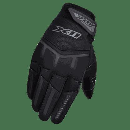 Luvas Motoqueiro Motociclista Fit X Tecido Preto X11