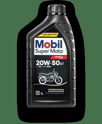 Óleo Lubrificante Motor Mineral Mobil Super Moto 4T 20w50