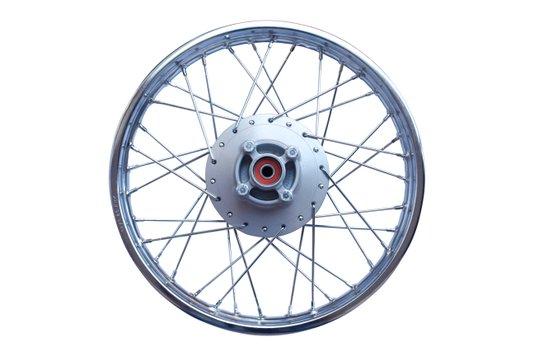 Roda Traseira 18x1.85 Moto Titan Fan 150 Completa Cromada